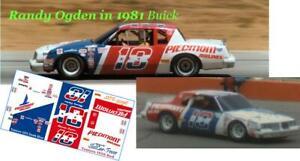 CD-3096 #18 Randy Ogden in 1981 Buick DECALS