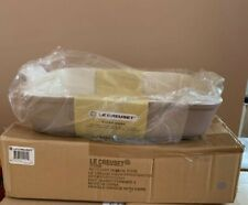 Le Creuset 32cm Large Deep Rectangular Dish / Baking /Casserole -Sisal (BNIB)
