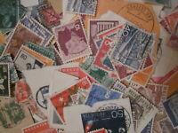 Suisse - Lot de timbres oblitérés sur fragments ou décollés - A étudier - Divers