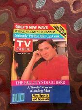 RARE! TV Guide Canada 1983 Phyllis Diller -serious COOK THE FALL GUY - DOUG BARR