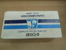 Wisconsin Complete Piston Ring Set # DR31CS-10 FITS MODEL VF4D