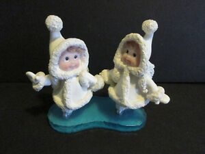 1999 Dreamsicles Northern Lights Crystal Duet Figurine-New In Box