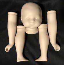"""Bye-Lo Baby Style DOLL Porcelain Bisque 3"""" HEAD 4.25"""" ARMS & LEGS Toddler Child"""