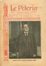 Portrait Tomas Estrada Palma President de Cuba Havana Havane 1906 ILLUSTRATION