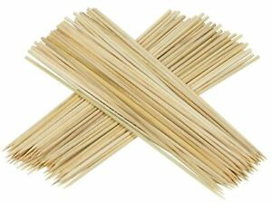 12 Inch Bamboo Skewers Sticks 150pcs For BBQ Kebab Fruit BBQ Wooden Sticks UK