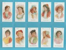NATIONS - NOSTALGIA CLASSIC REPRINTS - WILLS - 10  SETS OF 25 NATIONAL COSTUMES