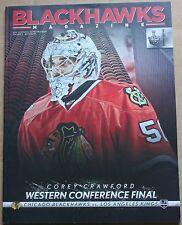 2013 Chicago Blackhawks Los Angeles Kings Western Conference Final GM 1 Program