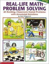 Real-Life Math Problem Solving, Grades 4-8: 40 Exciting, Classroom-Tes-ExLibrary