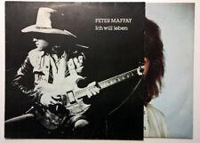 Peter Maffay - Ich will leben -Veny, LP, Album Metronome 28 392-9 -Org.1982