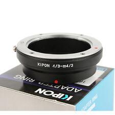 Kipon Objektivadapter passt zu 4/3 Objektiv an Micro 4/3 Anschluss Kamera MFT