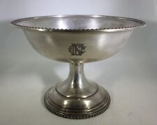 ANTIQUE ROGERS SMITH & CO QUADRUPLE SILVER PLATE COMPOTE BOWL NEW CENTURY CLUB