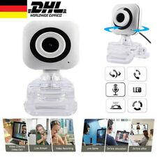 Webcam HD Video Laptop Kamera mit Mikrofon 30 fps Clip-on Camera für PC Win 10