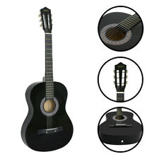Classical Beginners Acoustic Guitar W/Case, Strap, Tuner & Pick Gift to Kids