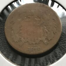 1870 Two Cent Piece 2c Better Grade #11032