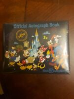 Walt Disney World WDW Parks Mickey Mouse & Friends Official Autograph Book ~ NEW