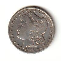 ÉTATS-UNIS 1 Dollar 1901 Morgan La Nouvelle-Orléans - TTB++
