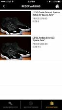 Brand New Air Jordan11 Retro Space jam Size 8.5 Limited Edition 100% Authentic