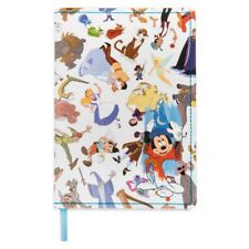 More details for disney store parks ink and paint lined journal notebook notepad a5 softback new