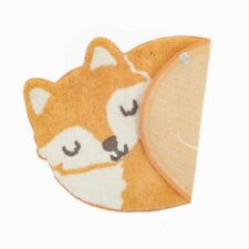 Woodland Fox Floor Rug Children's Animals Sass & Belle