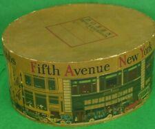 Dobbs Fifth Avenue Cardboard Hat Box 1919