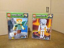 Lego lot Minecraft 21149 & 21150  ( neuf & scellé )
