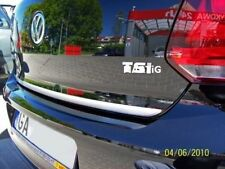 VW POLO V 6R 6C 09-15 - Chrom Zierleiste Heckleiste Heckklappe 3M Tuning