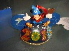 Disney Parks 2015 Sorcerer Mickey Mouse Light-Up Ear Hat Ornament