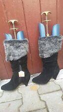 bottes neuves pointure 37 en tissu noir velours GRACELAND