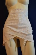 Fabulous Vintage Sarong Open Bottom Girdle Size 29