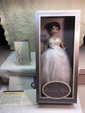 "The Franklin Mint Elizabeth Taylor Vinyl Portrait Doll 16"""