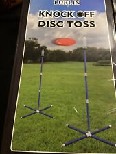 Giggle N Go Knock Off Frisbee Toss Outdoor Game