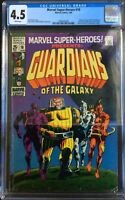 Marvel Super-Heroes #18 1st Appearance of Guardians of The Galaxy CGC 4.5