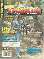 Treasure Magazine May 1991 San Saba Mines Warship Wasa Captain Flavel