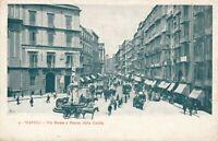NAPOLI – Via Roma e Piazza della Carita – Naples – Italy – udb (pre 1908)