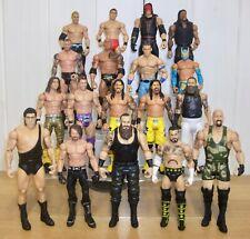 WWE MATTEL Mixed Wrestling figures-Cena Mysterio Punk etc-Basic battlepack