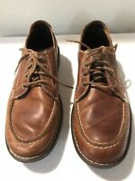 TIMBERLAND Men's Earth Keeper Brown Leather Shoes SIze US 8.5 Lace up Casual