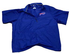 Alex Carrington team Worn issued Buffalo Bills track coat jacket Nike Blue XXXL