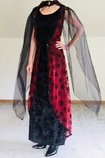 Totally Ghoul Vampiress Dress -  Halloween Costume - Size S/M