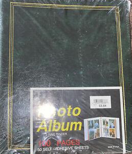 Photo album 3ring binder 100pages 50 self adhesive sheets  Sealed