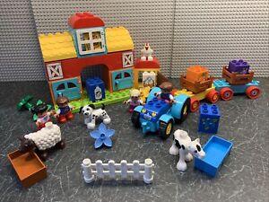 Duplo Farm barn , tractor animals sets