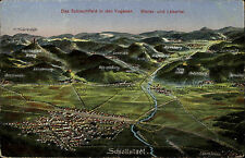 Sélestat Schlettstadt Elsass ~1910/20 Weilertal Lebertal Orschweiler Diefenthal