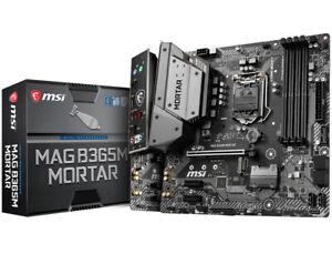 MSI S1151 MicroATX B365M MORTAR DDR4 Motherboard