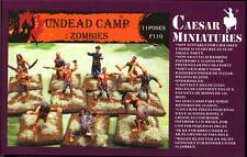 Caesar Miniatures 1/72 ZOMBIES UNDEAD CAMP Figure Set