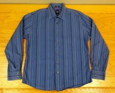 GAP Long Sleeve 100% Cotton Business Casual Dress Shirt L Men's Large (16-16.5)