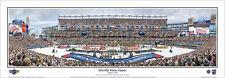 WINTER CLASSIC 2016 Gillette Stadium Bruins vs. Canadiens Panoramic POSTER Print