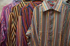 Lot of (4) Different Cibrero 100% Silk Long Sleeve Button Shirts Size 2XL