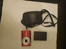 Canon PowerShot A4000 IS 16.0MP Digital Camera - Red..#JL29
