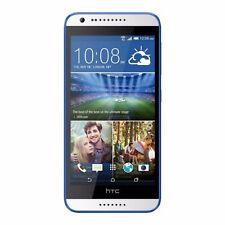New HTC Desire 620G Dual-SIM 8GB White/Blue Trim Factory Unlocked 3G Simfree