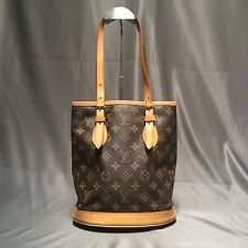 Louis Vuitton Monogram Vintage Petit Bucket PM