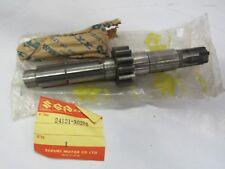 Suzuki TM250 nos countershaft assy p.n. 24121-30200